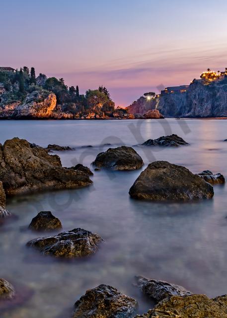nature reserve,  Ìsula Bedda, Mediterranean, The Pearl of the Ionian Sea, Taormina, Sicily, southern Italy, Sicily, Italy