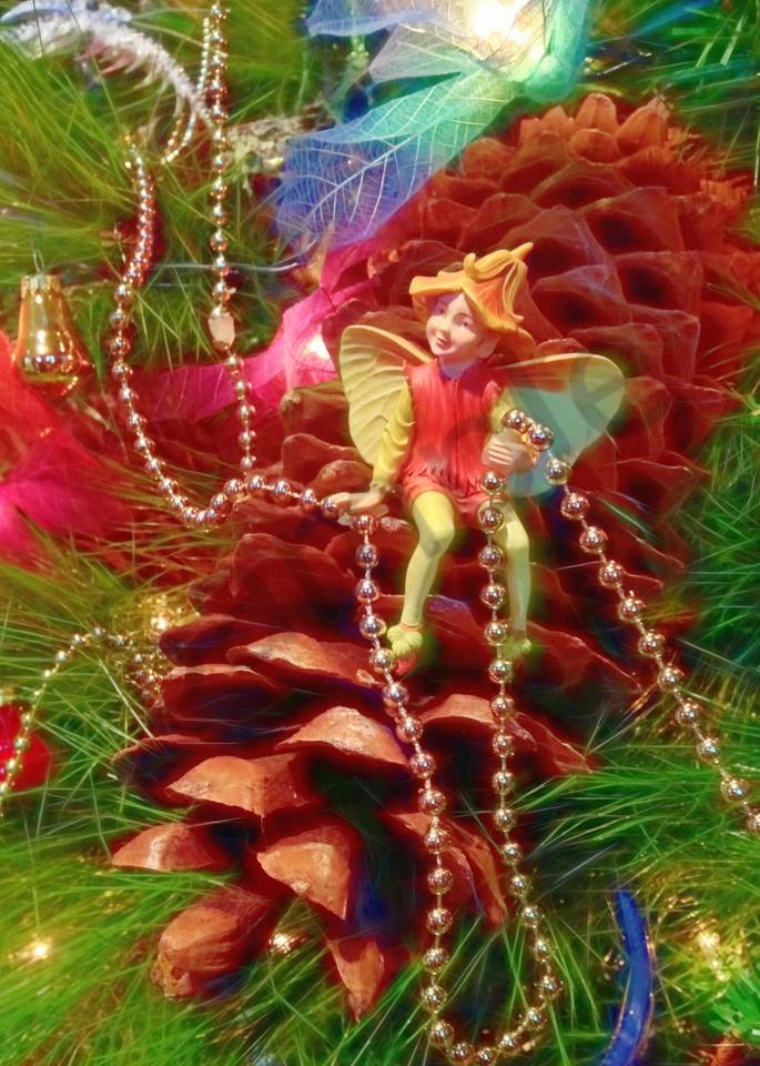 Christmas Tree Fairy Art | toddbreitling