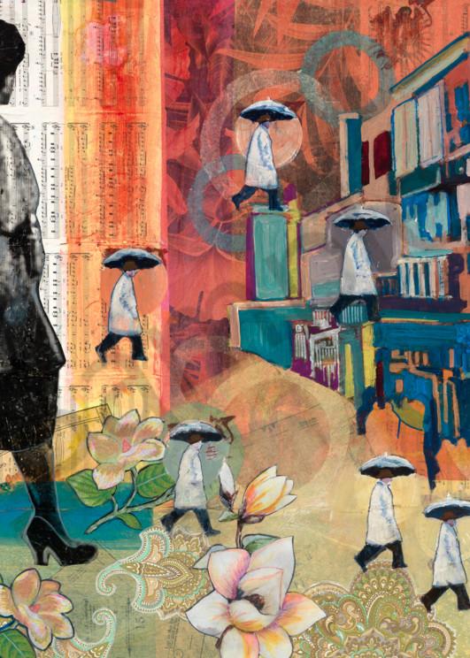 She Walks In Beauty Art   memoryartgirl