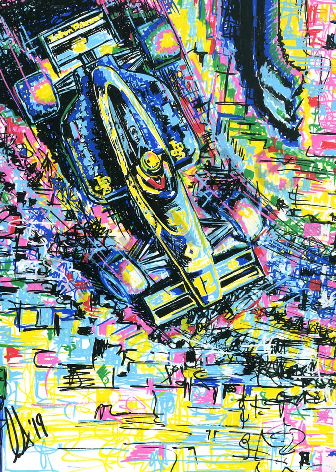 Ayrton Senna - Monaco 85