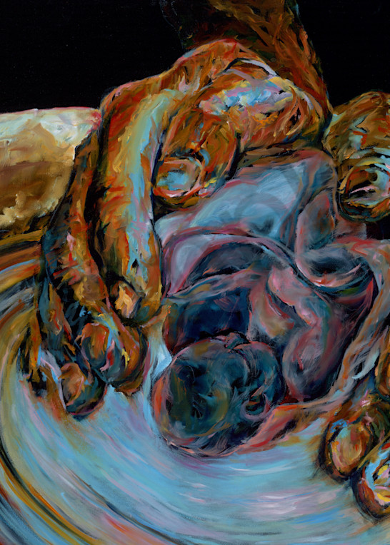 """""""New Life"""" by California Artist Mary Crawford 