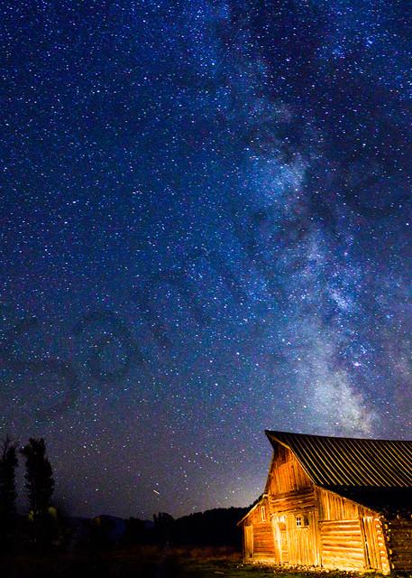 Under The Stars - fine art photography prints - by JP Sullivan Photography - Grand Tetons