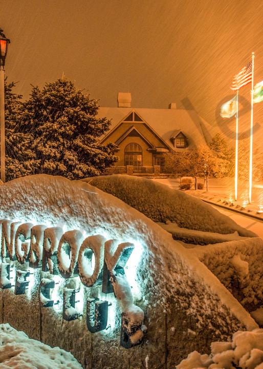 winter scene at Bolingbrook Golf Club - fine art photography prints