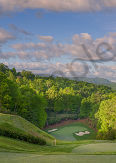 Champion Hills Club, 9th Hole, Hendersonville, North Carolina Photography Art | Dave Sansom Photography LLC