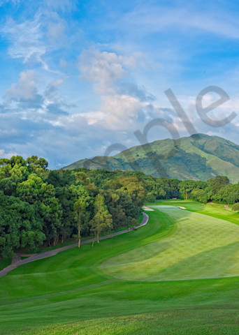 Hong Kong Golf Club, 10th Hole, Old Course, Hong Kong Photography Art | Dave Sansom Photography LLC