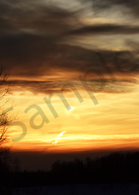 Sunset In The Sax Zim Bog Photography Art | LHR Images