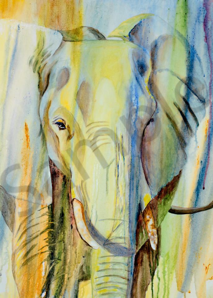 Elephant Of Timbavati Art | J. Medeiros Fine Art