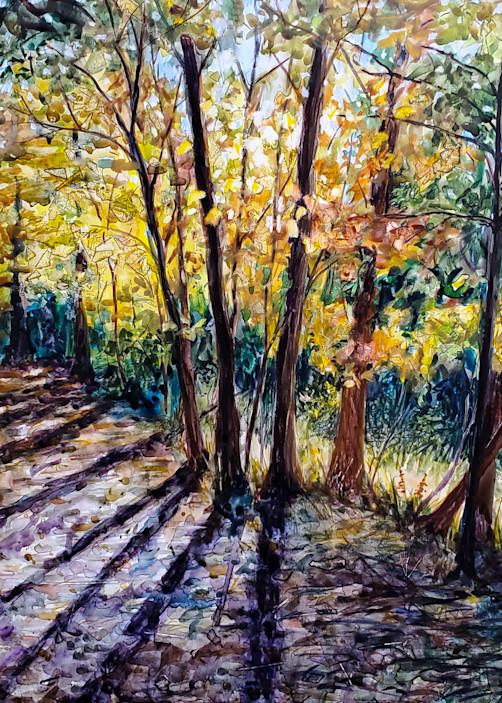 """Hancock Woodlands"" by Ohio Artist Jennifer Sowders | Prophetics Gallery"
