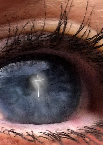 """Cross-Eyed"" by Digital Artist Curtis Sikes | Prophetics Gallery"