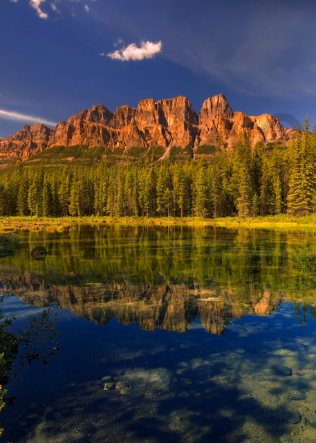 Castle Mtn. Banff National Park.Canadian Rockies|Rocky Mountains|