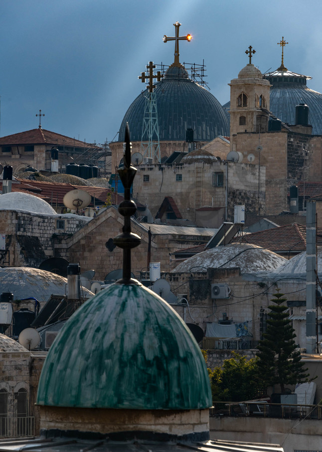 Christian domes of Jerusalem