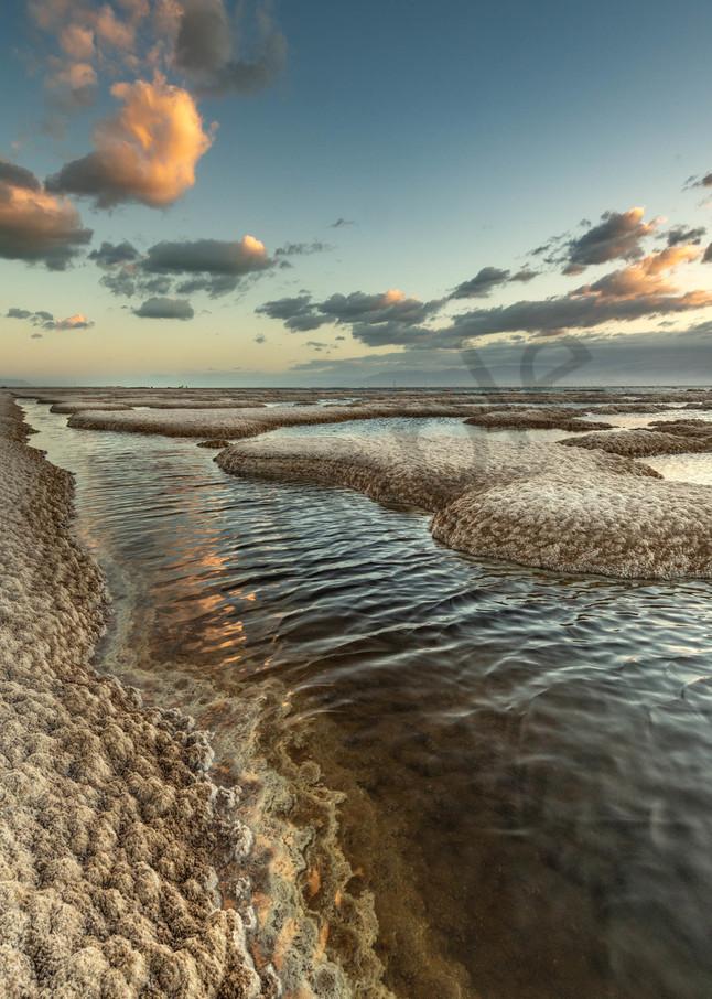 Dead Sea sunrise three