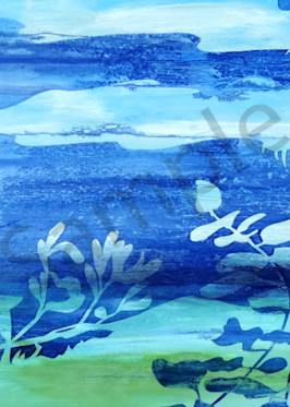 Blue Fusion Art | Shore Paintings