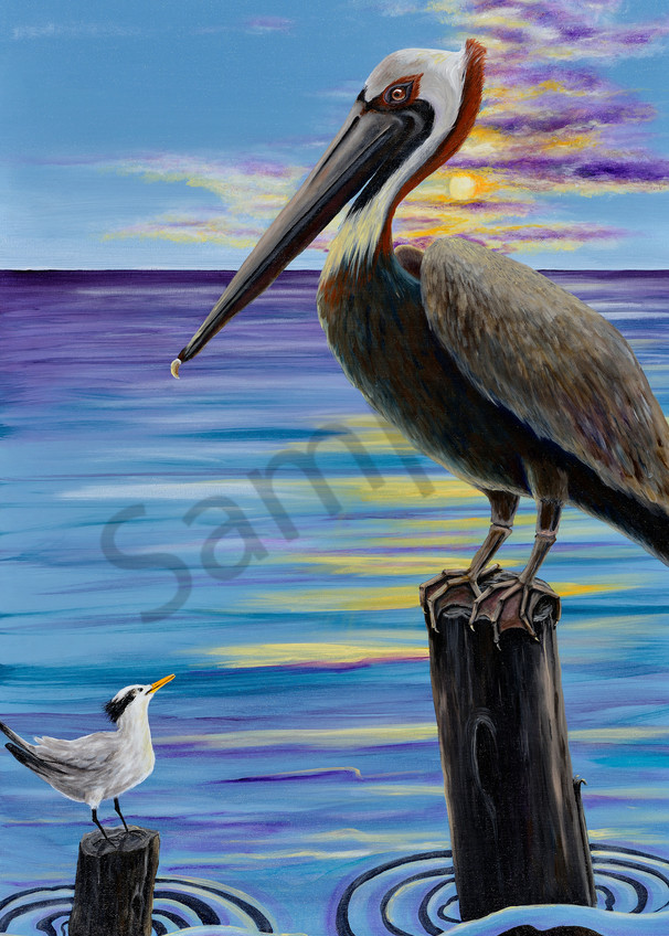I Know He Watches Me Art | Shore Paintings