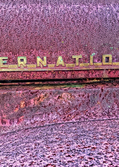International Truck|Fine Art Photography by Todd Breitling