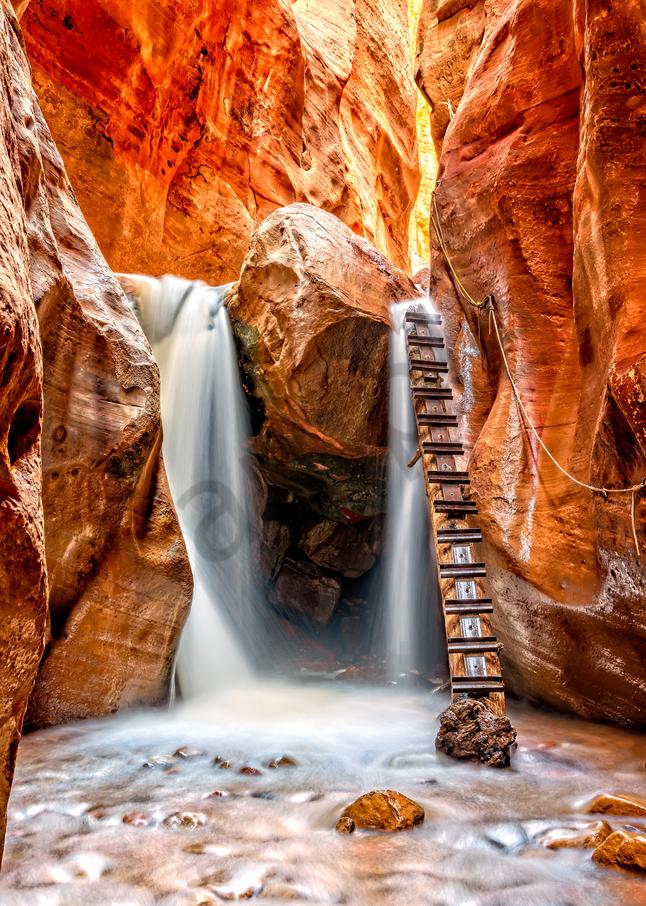 Art Print  Zion National Park Utah Kanarra Canyon