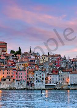 Art Print Rovinj Croatia Istrian Peninsula