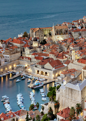 Art Print Dubrovnik Croatia Pearl of the Adriatic