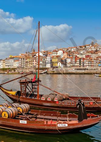 Art Print Porto Portugal Port Wine