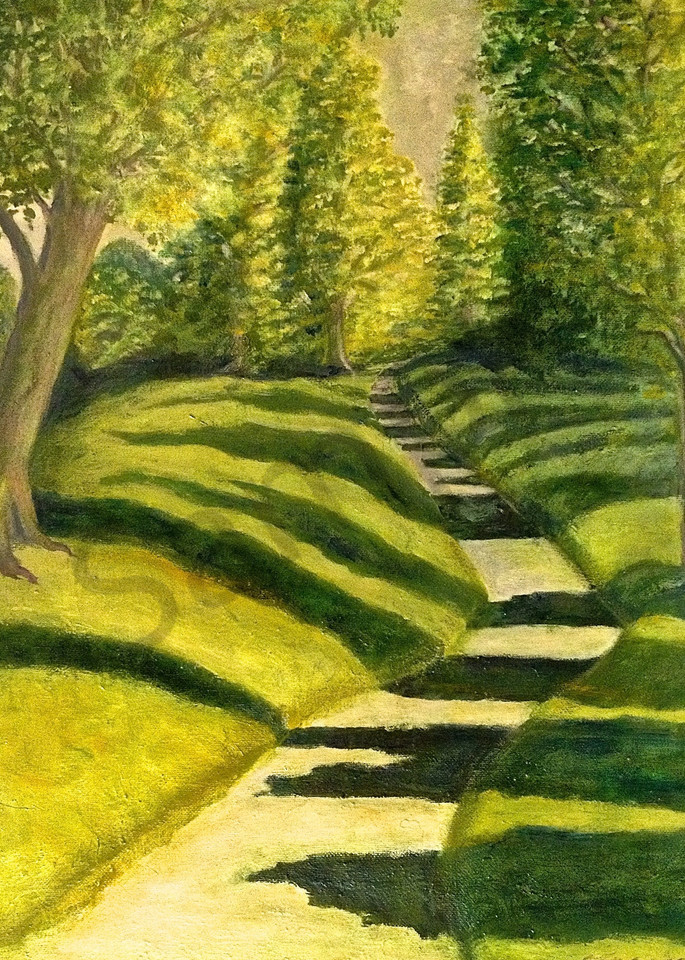 Wooded Path Art | Wild Ponies creations
