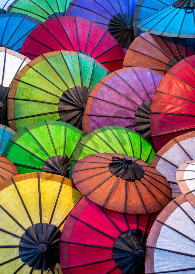 Asian umbrellas