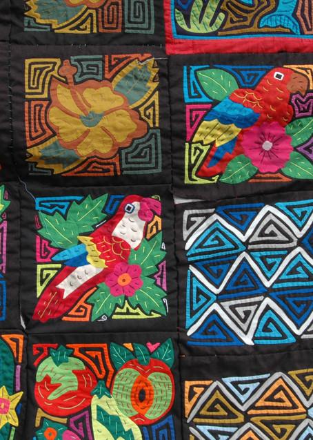 Colorful Molas Panama