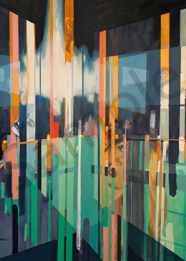 22 Chandelier Convergence 22 60x68 22 Art   sheldongreenberg