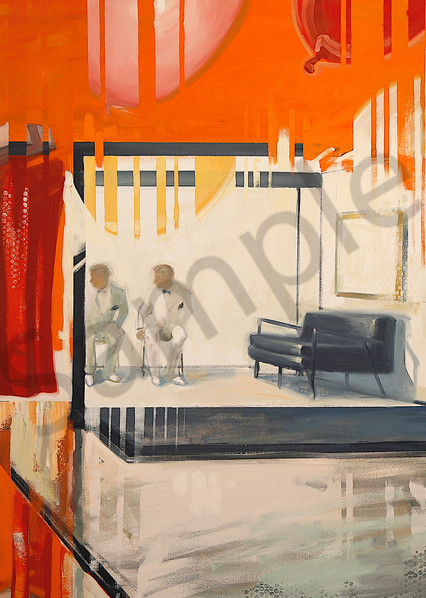 The Best Seat In The House 50x80 22 Art | sheldongreenberg