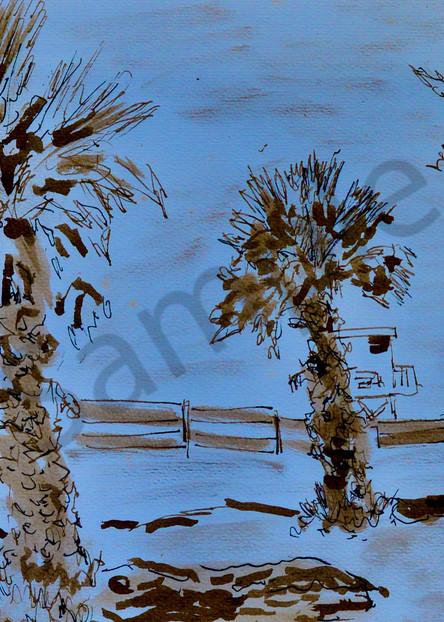 'venice Beach, Ca' Art | Cera Arts