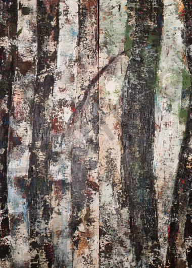 Krishna's Trees, Diptich Art | Adam Shaw Gallery