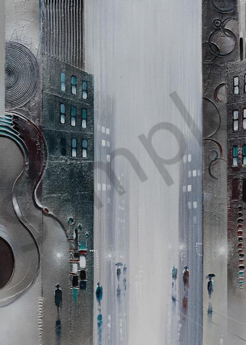 Sounds Of The City  Art | John Blowers Art