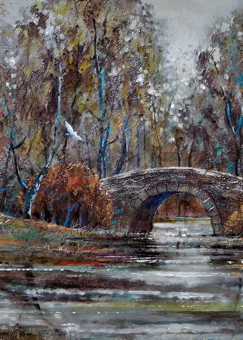 Stone Bridge  Art | John Blowers Art