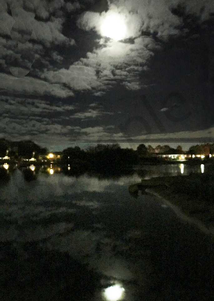 Moon Reflected Photography Art   It's Your World - Enjoy!