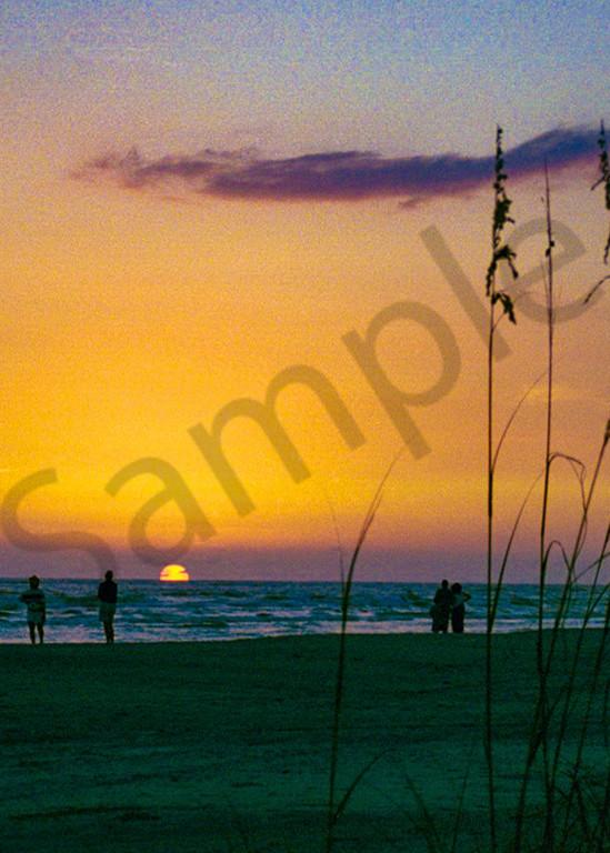 Sea Oats Sunset Photography Art | It's Your World - Enjoy!