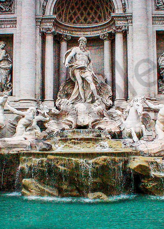 Trevi Fountain Photography Art   It's Your World - Enjoy!