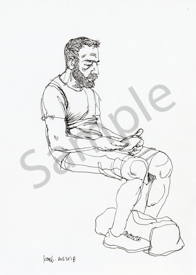 The Bearded Man Art | RPAC Gallery
