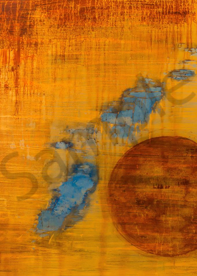 Washed Away Mm On Steel 47x47 Copy Art | Adam Shaw Gallery