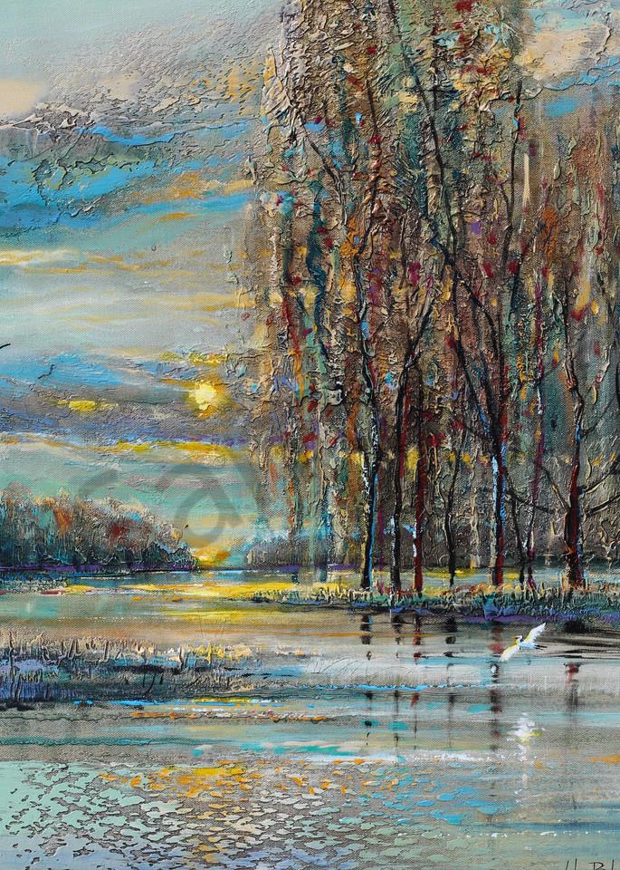 Evening Flight Art | John Blowers Art