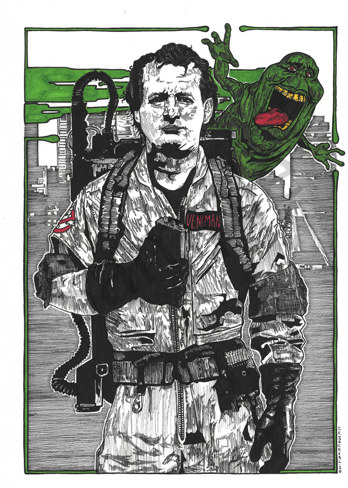 Peter Venkman of the Ghostbusters