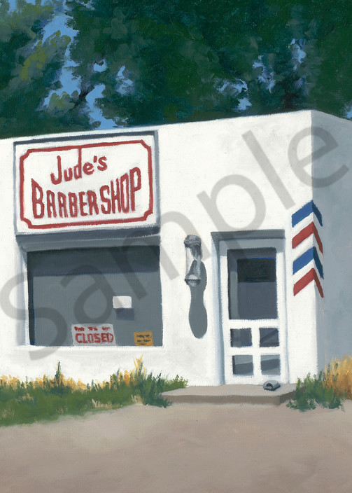 Sunday Afternoon at Jude's   Original Oil Painting   Fine Art Print