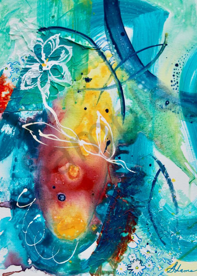 """Shielding Presence"" by North Carolina Artist Sharon Adams   Prophetics Gallery"