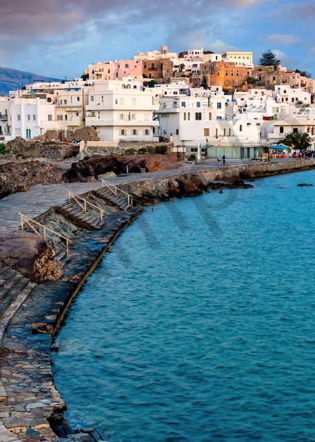 Art Print Naxos Greece Land Bridge