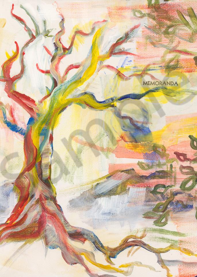 Tree, nature, abstract, print