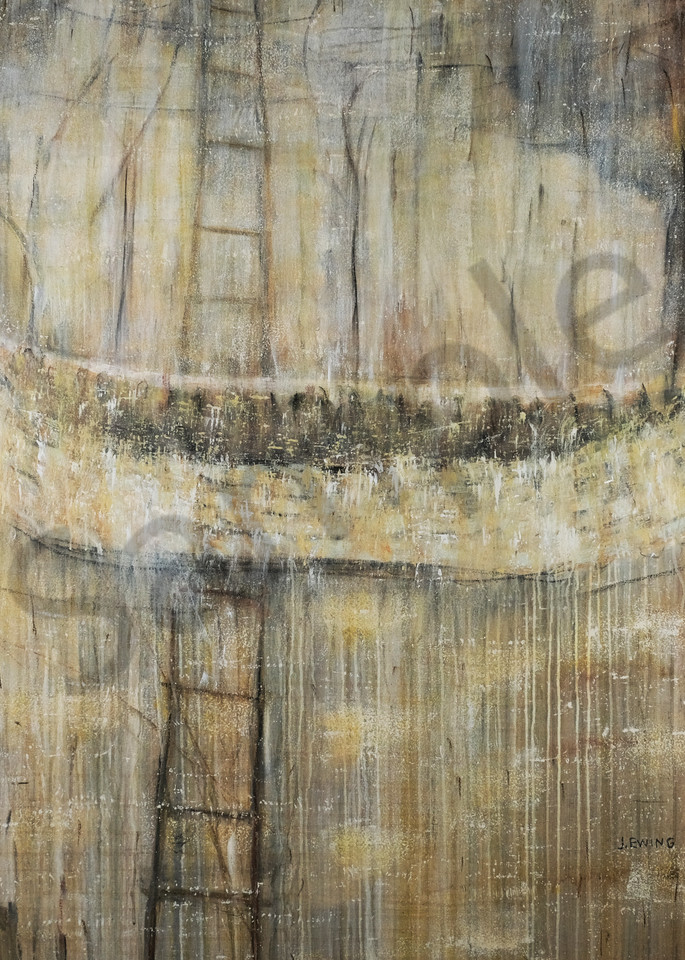 Climbing Through The Landscape Art | Jennifer Ewing