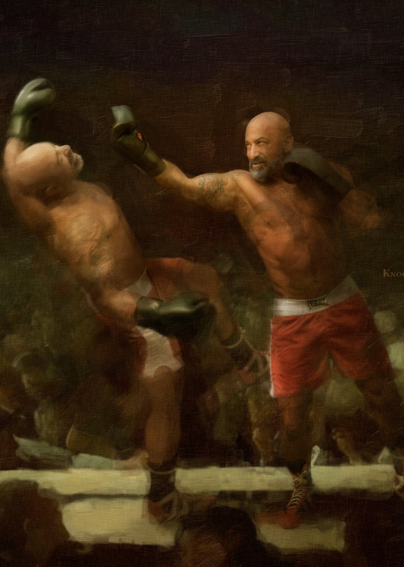 Go Ahead Knock Yourself Out, Open Edition, Ben Fink, Archival Art prints,