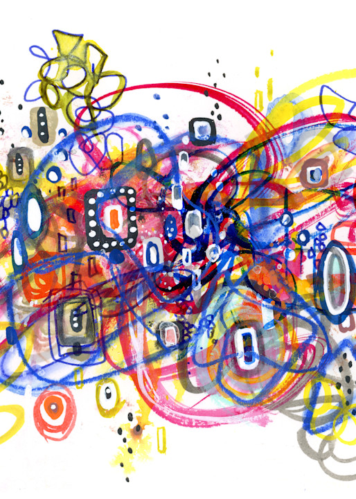Abstract Chaos Of Knowing Art   Kyle Creative