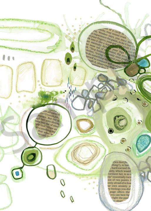 Green Elevation Art | Kyle Creative