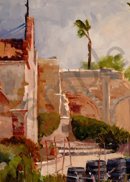 Mission San Juan Capistrano Art | Toni Danchik Fine Art