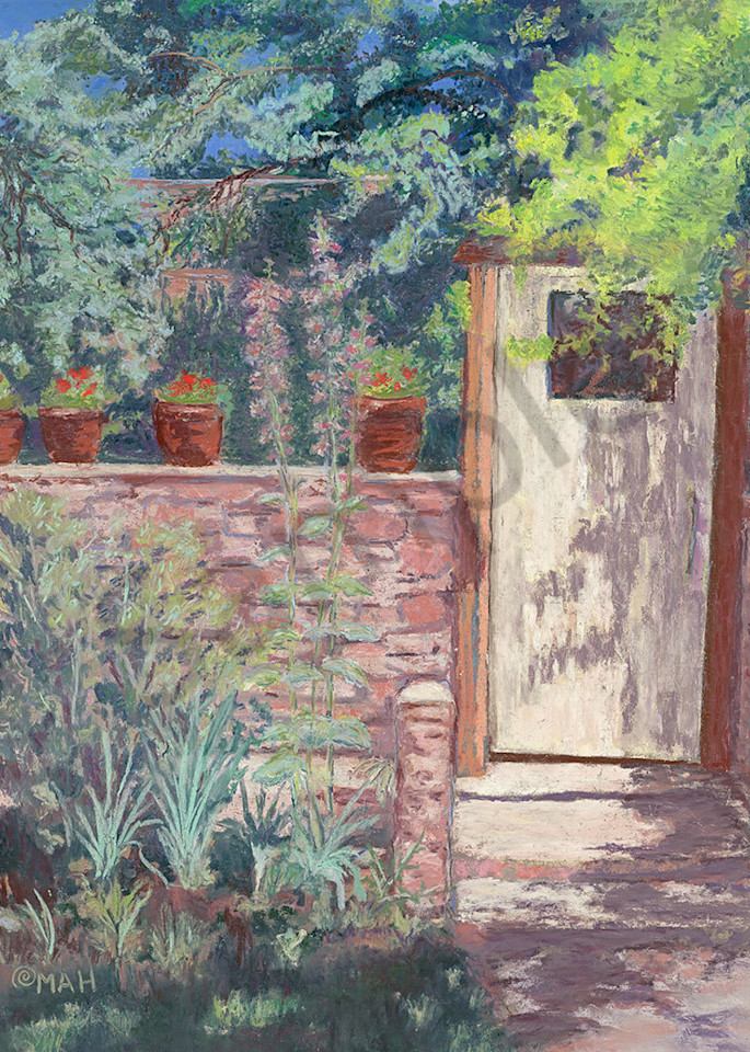 """""""Door to Nowhere"""" fine art print by Mary Anne HIll."""