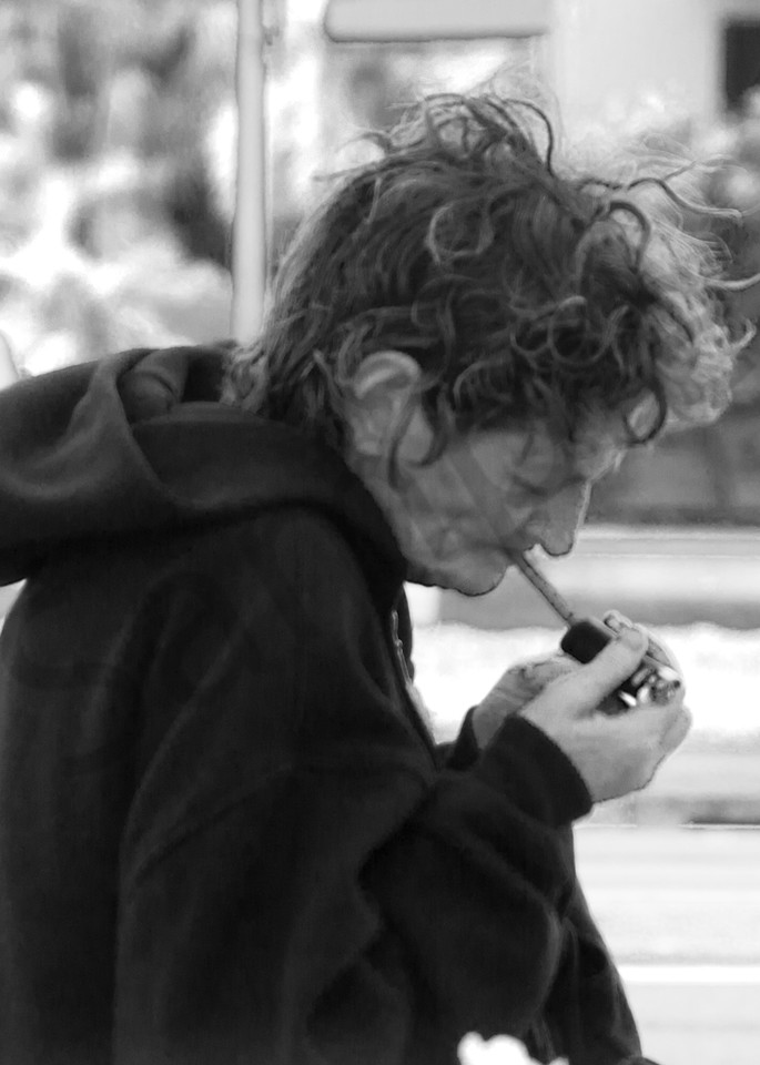 Lady Smoking Photography Art | CLAUDIA LARRAIN